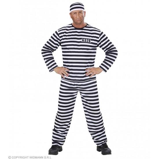 Αποκριάτικη Στολή Φυλακισμένος 3909