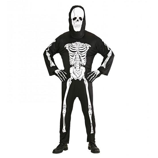 Αποκριάτικη Στολή Σκελετός W3928
