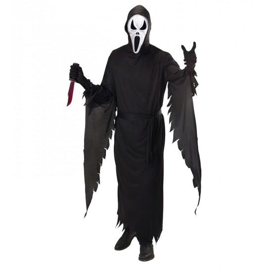 Αποκριάτικη Στολή Μαύρο Φάντασμα Scream
