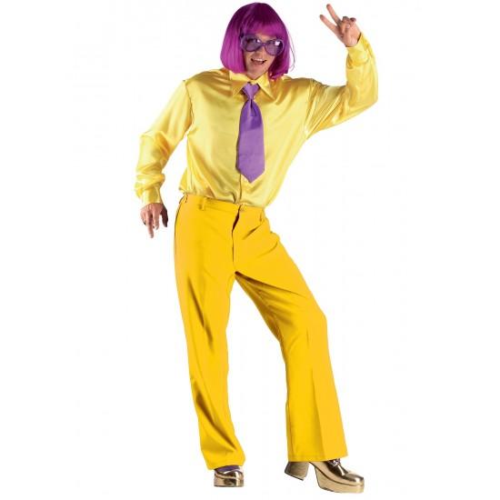 Αποκριάτικη Στολή Παντελόνι Κίτρινο