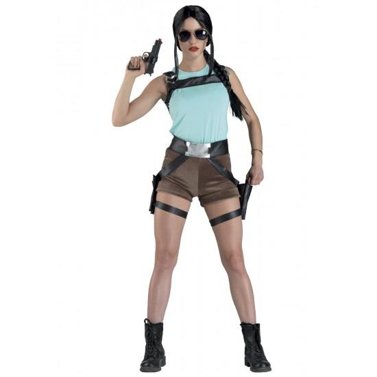 Αποκριάτικη Στολή Lara Rider