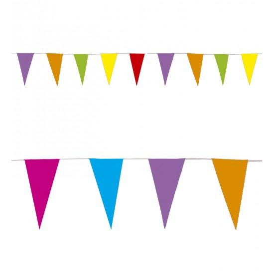 Γυρλάντα Χάρτινη Σημαιάκια 10m