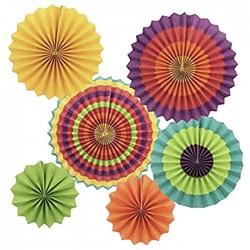 Διακοσμητικοί Ήλιοι Χάρτινοι σετ 6τεμ 20cm-30cm-40cm