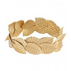 Στεφάνι με Χρυσά Φύλλα