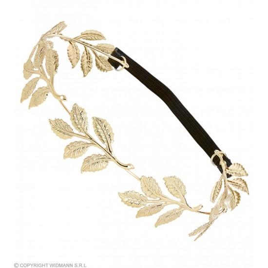 Στεφάνι με Χρυσά Φύλλα μεταλλικό