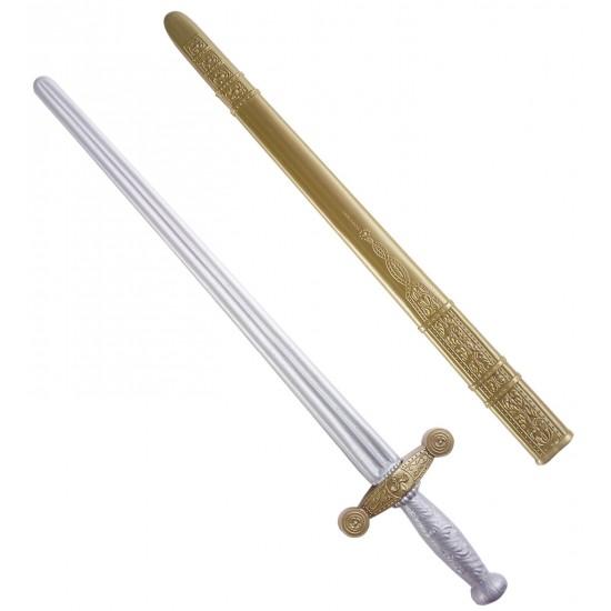 Σπαθί Ιππότη Με Θήκη 65εκ.