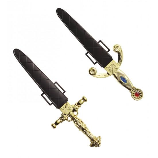 Μαχαίρι με Θήκη 2σχ 25cm