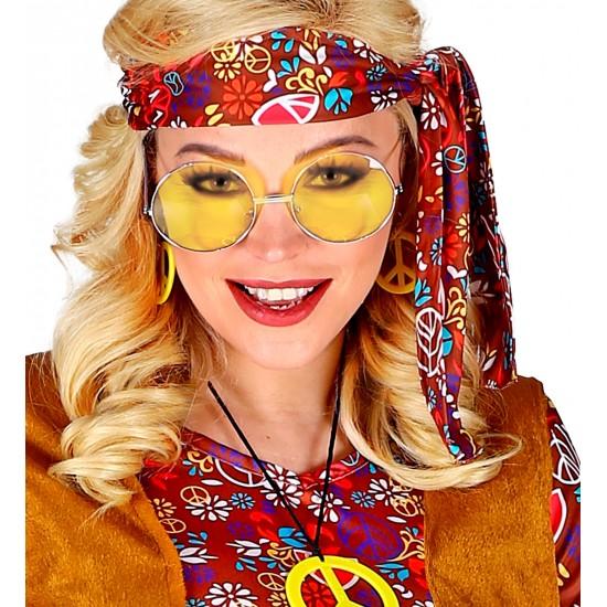 Αποκριάτικα Γυαλιά Χίπη Μεγάλα 6χρ