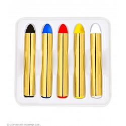 Make up Μολυβάκια 5 χρώματα