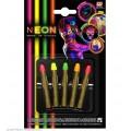NEON Make up Μολυβάκια 5 χρώματα