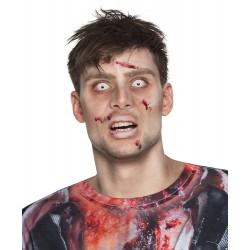 Αποκριάτικοι Τριμηνιαίοι Φακοί Επαφής Zombie 340001
