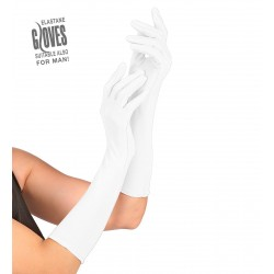 Γάντια Λευκά Ελαστικά 37cm W1441W