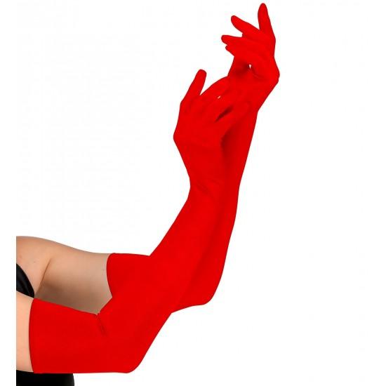 Γάντια Κόκκινα 60cm W3442R