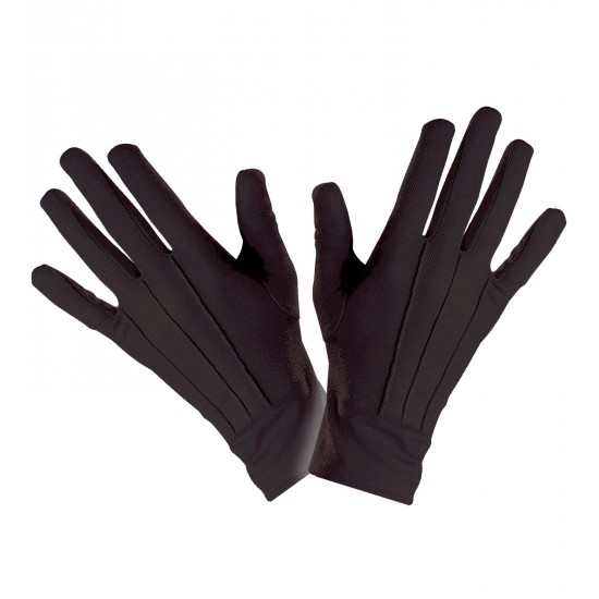 Γάντια Μαύρα Κοντά W4635E