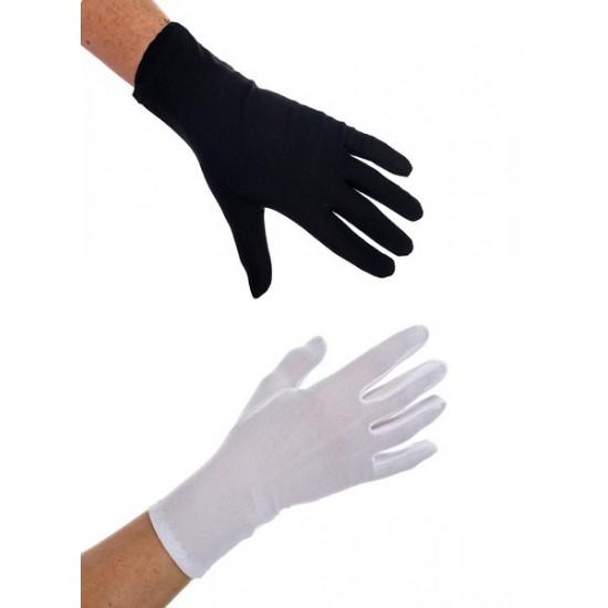 Γάντια Άσπρα – Μαύρα Κόντα