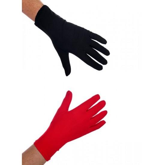Γάντια Κόκκινα – Μαύρα Κόντα