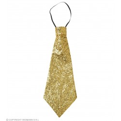 Γραβάτα Χρυσή Glitter W9362G