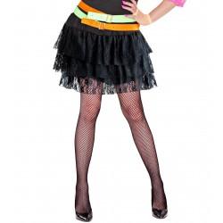Φούστα Μαύρη Τούτου με Δαντέλα
