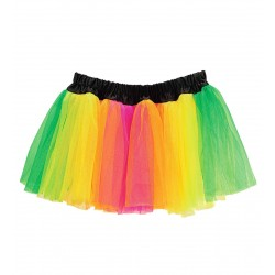 Φούστα Tutu πολύχρωμη neon
