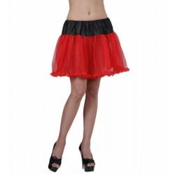 Φούστα Μαύρο-Κόκκινο μεσοφόρι tutu