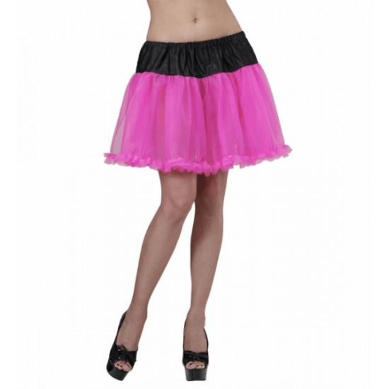 Φούστα Μαύρο-Ροζ μεσοφόρι tutu