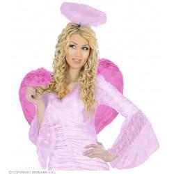 Φτερά Ροζ πουπουλένια 37x50cm