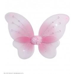 Φτερά Πεταλούδας Ροζ με Πετράδια 50x40cm