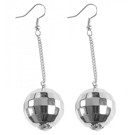 Σκουλαρίκια Disco ball