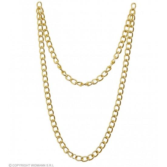 Χρυσή Αλυσίδα για Λαιμό 120cm