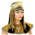 Αιγυπτιακό Κόσμημα κεφαλιού με χάντρες και φίδι
