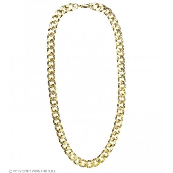 Μεταλλική Χρυσή Αλυσίδα Χοντρή για Λαιμό 60cm