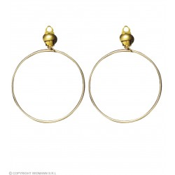 Σκουλαρίκια Κρίκοι Χρυσοί