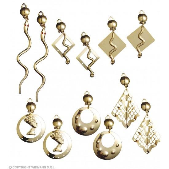 Αιγυπτιακά Σκουλαρίκια Διάφορα Σχέδια