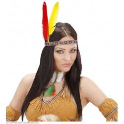 Ινδιάνικη Κορδέλα με Φτερά