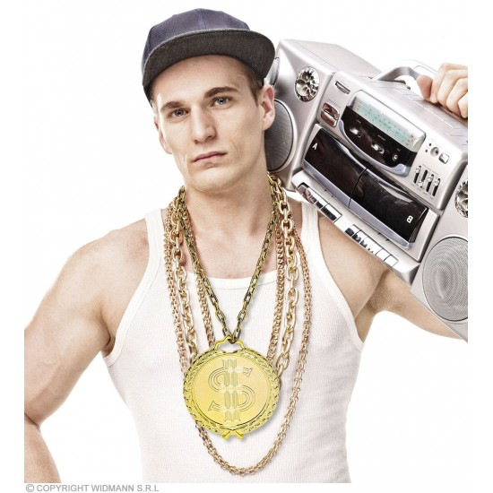 Κολιέ Hip Hop με Δολάριο Γίγας
