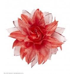Λουλούδι Κόκκινο με Clip