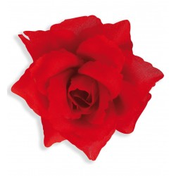 Κόκκινο Λουλούδι με Clip