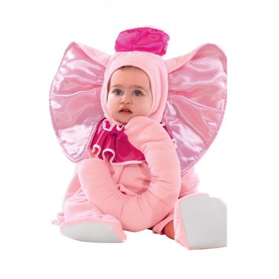 Αποκριάτικη Στολή Ελεφαντάκι Ροζ bebe