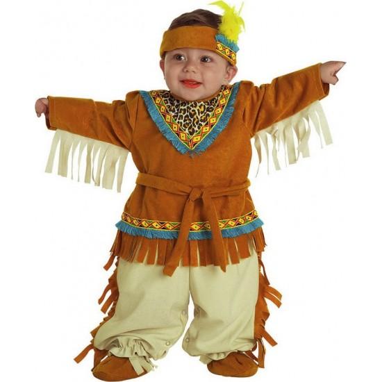 Αποκριάτικη Στολή bebe Ινδιάνος 598