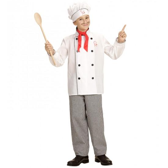 Αποκριάτικη Στολή Μάγειρα Παιδική