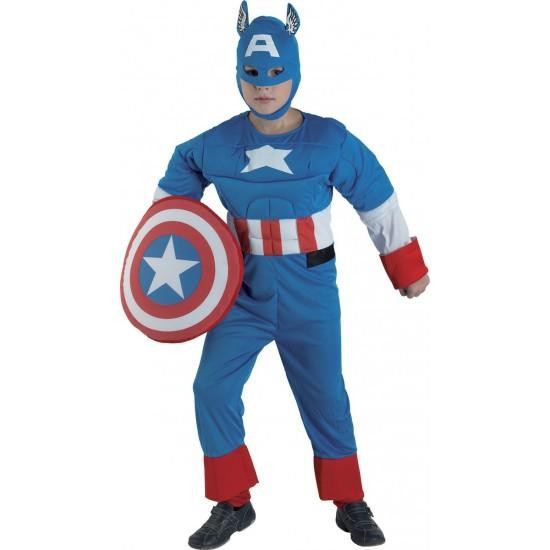 Αποκριάτικη Στολή Captain America 200
