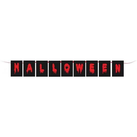 Γυρλάντα Halloween Σημαιάκια 2m