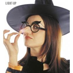 Γυαλιά Μάγισσας με φωτιζόμενη μύτη