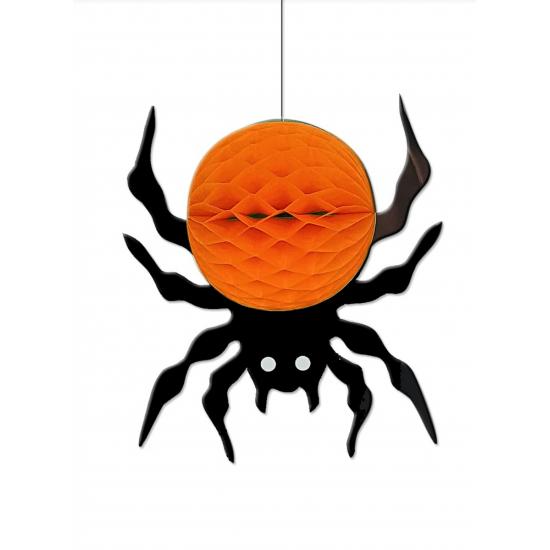 Γυρλάντα Halloween Αράχνη κρεμαστή 25cm