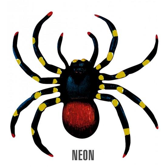 Σετ από 2 Αράχνες neon 10cm
