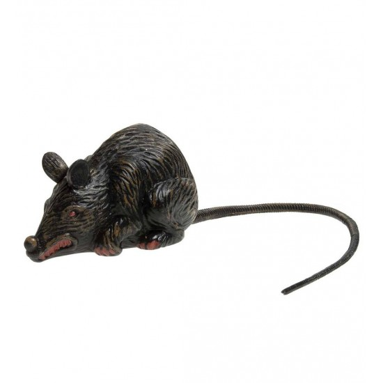 Τρομακτικός Ποντικός 10cm ουρά 23cm