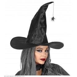 Καπέλο Μάγισσας με Κρεμαστή Αράχνη Λυγιζόμενο
