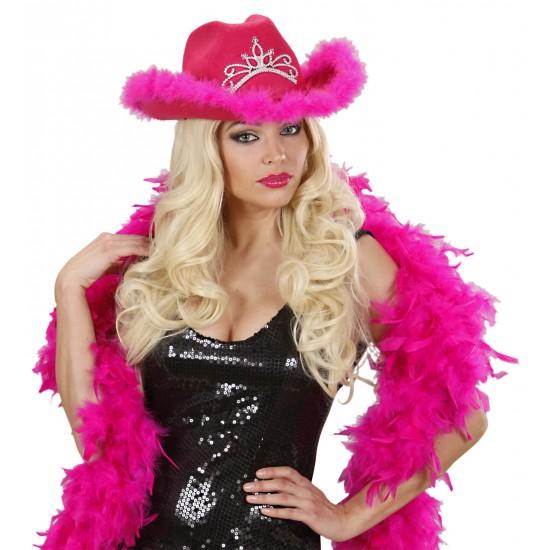 Καπέλο Cow Girl Φουξ