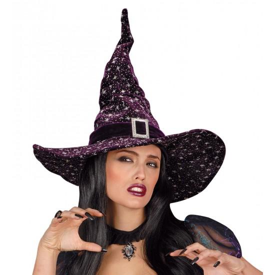 Καπέλο Μάγισσας με Glitter