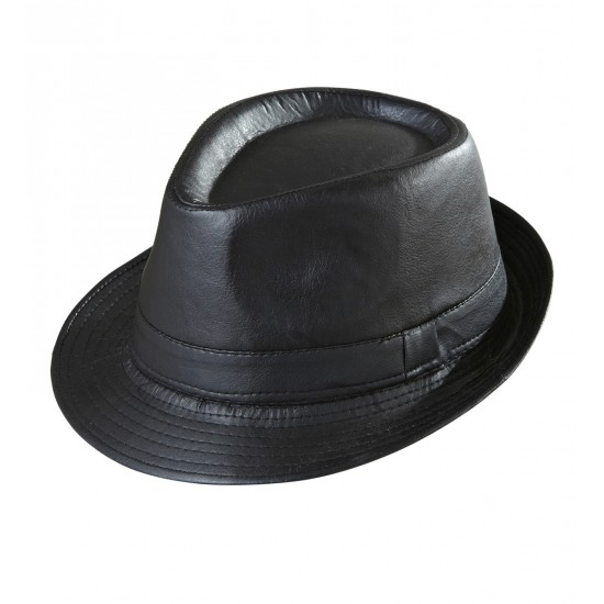 Καπέλο Καβουράκι Δερματίνη